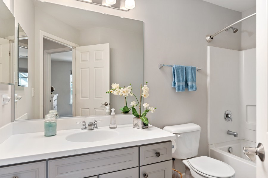 Real Estate Photography - 253 Lionel Dr, Grayslake, IL, 60030 - Bathroom