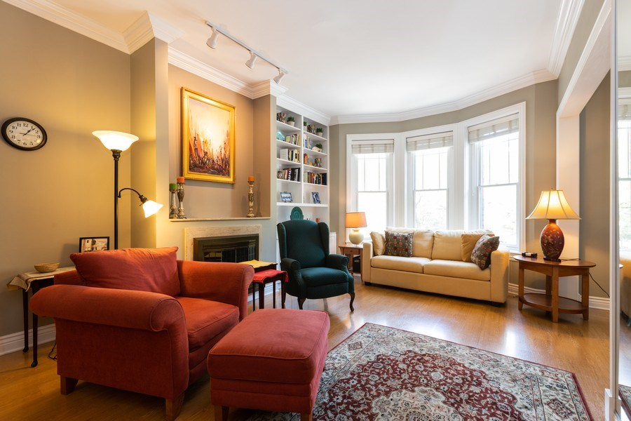 Real Estate Photography - 1500 N LaSalle, Apartment 2B, Chicago, IL, 60610 - Living Room
