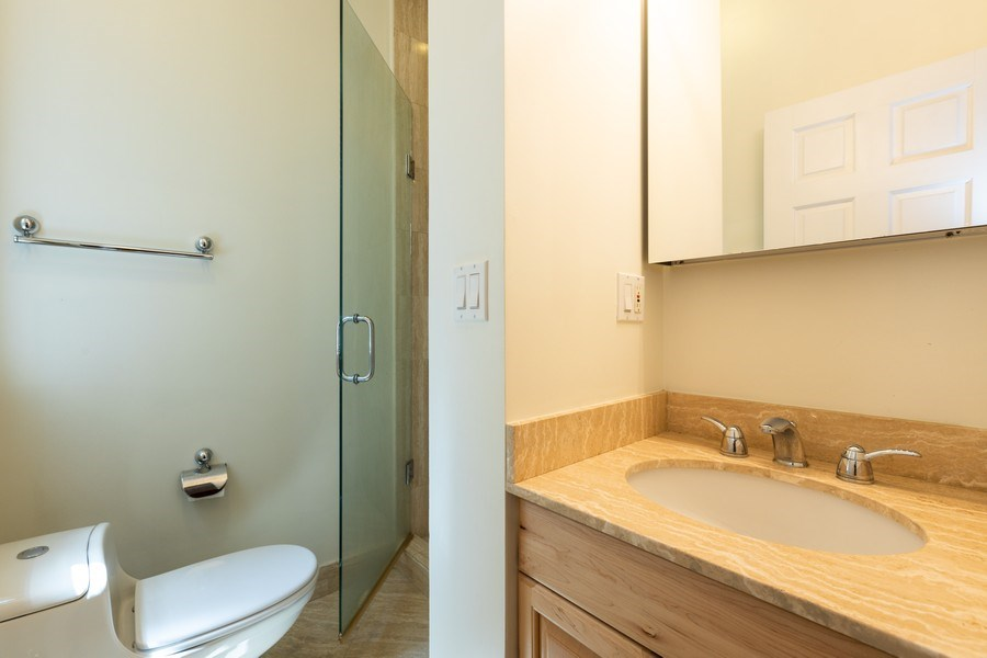 Real Estate Photography - 1500 N LaSalle, Apartment 2B, Chicago, IL, 60610 - Master Bathroom