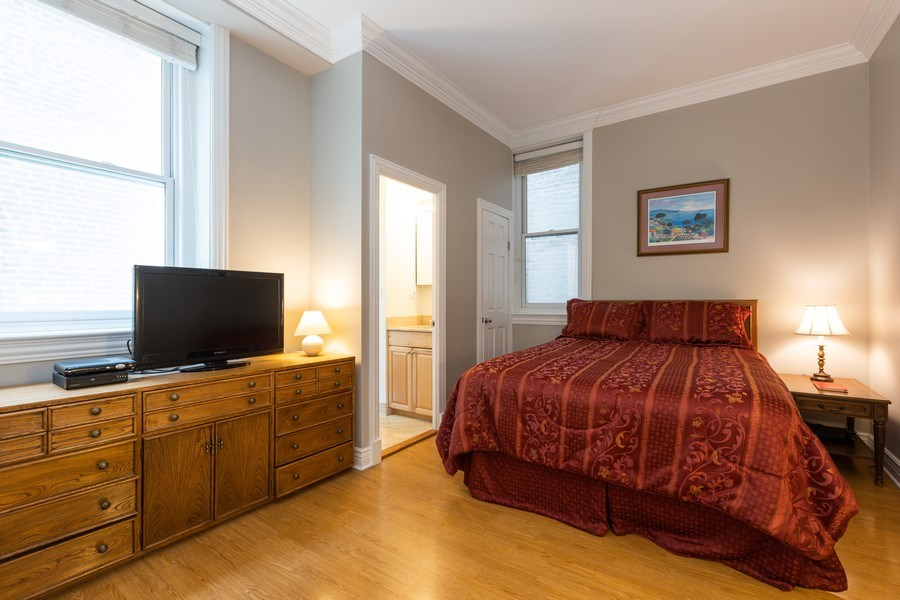 Real Estate Photography - 1500 N LaSalle, Apartment 2B, Chicago, IL, 60610 - Master Bedroom