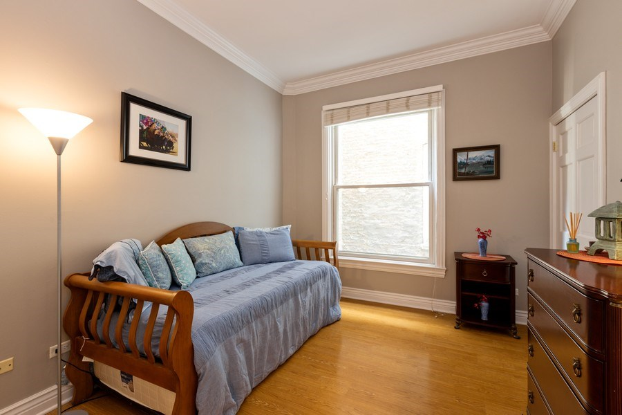 Real Estate Photography - 1500 N LaSalle, Apartment 2B, Chicago, IL, 60610 - Bedroom