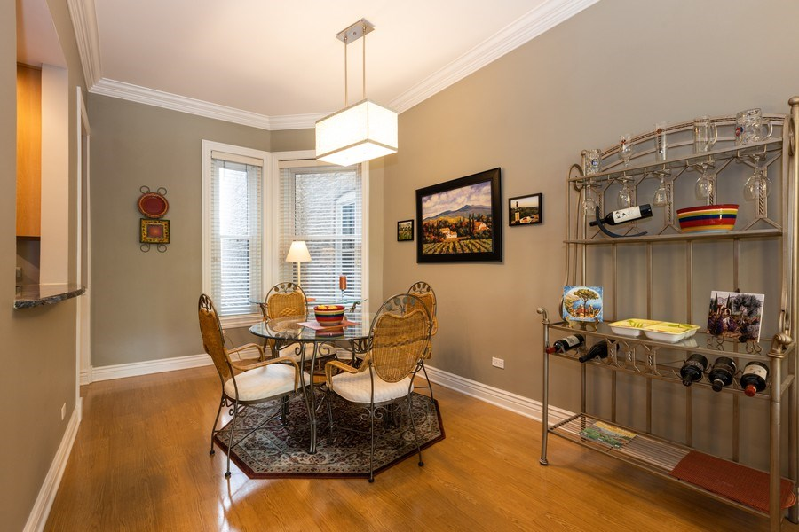 Real Estate Photography - 1500 N LaSalle, Apartment 2B, Chicago, IL, 60610 - Dining Room