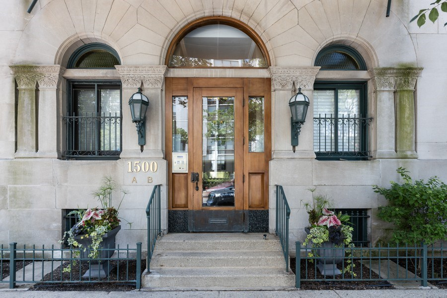 Real Estate Photography - 1500 N LaSalle, Apartment 2B, Chicago, IL, 60610 - Front View