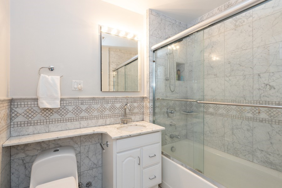 Real Estate Photography - 1500 N LaSalle, Apartment 2B, Chicago, IL, 60610 - Bathroom