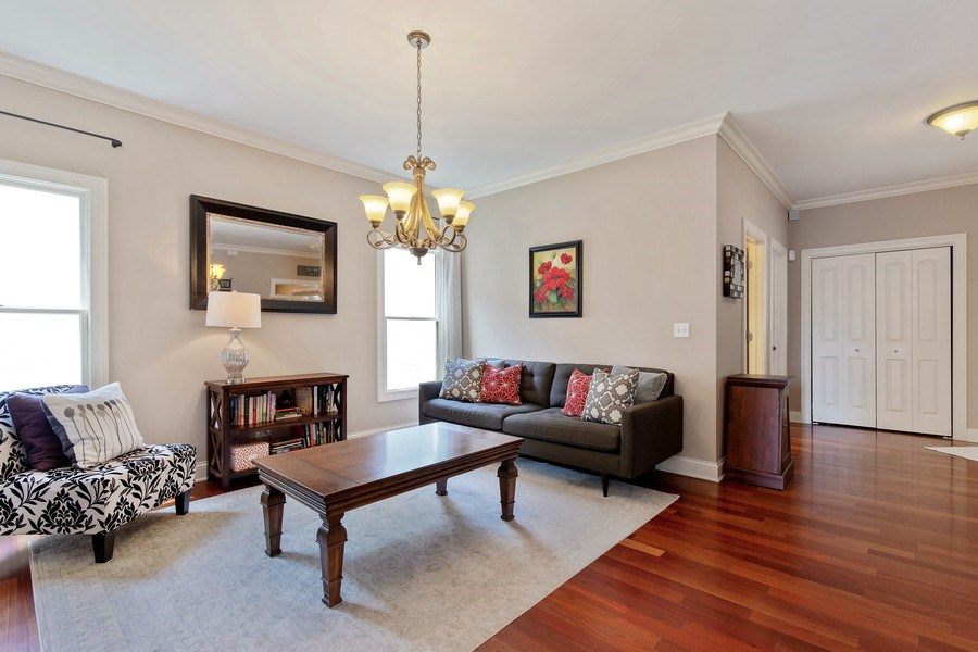 Real Estate Photography - 21391 W Willow Road, Lake Zurich, IL, 60047 - Living Room