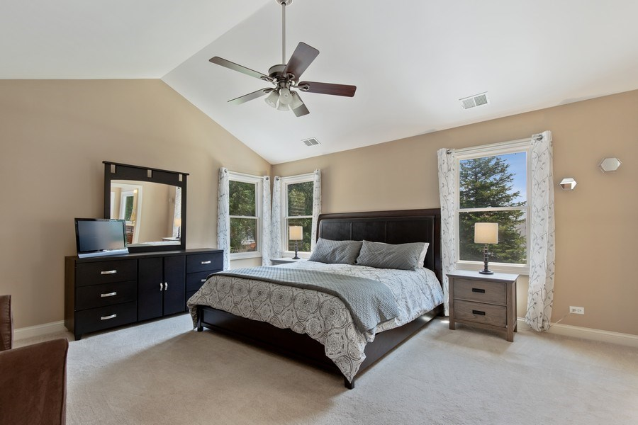 Real Estate Photography - 21391 W Willow Road, Lake Zurich, IL, 60047 - Master Bedroom
