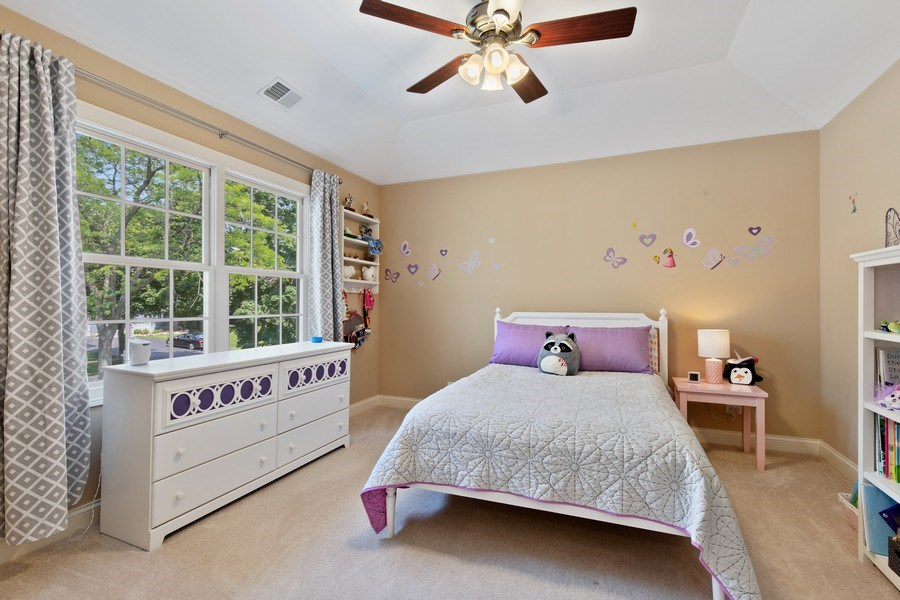 Real Estate Photography - 21391 W Willow Road, Lake Zurich, IL, 60047 - 3rd Bedroom