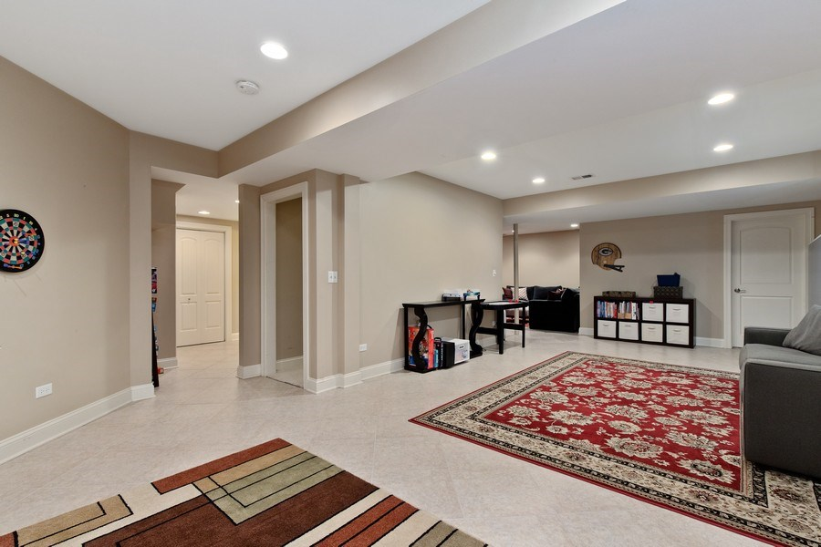 Real Estate Photography - 21391 W Willow Road, Lake Zurich, IL, 60047 - Basement