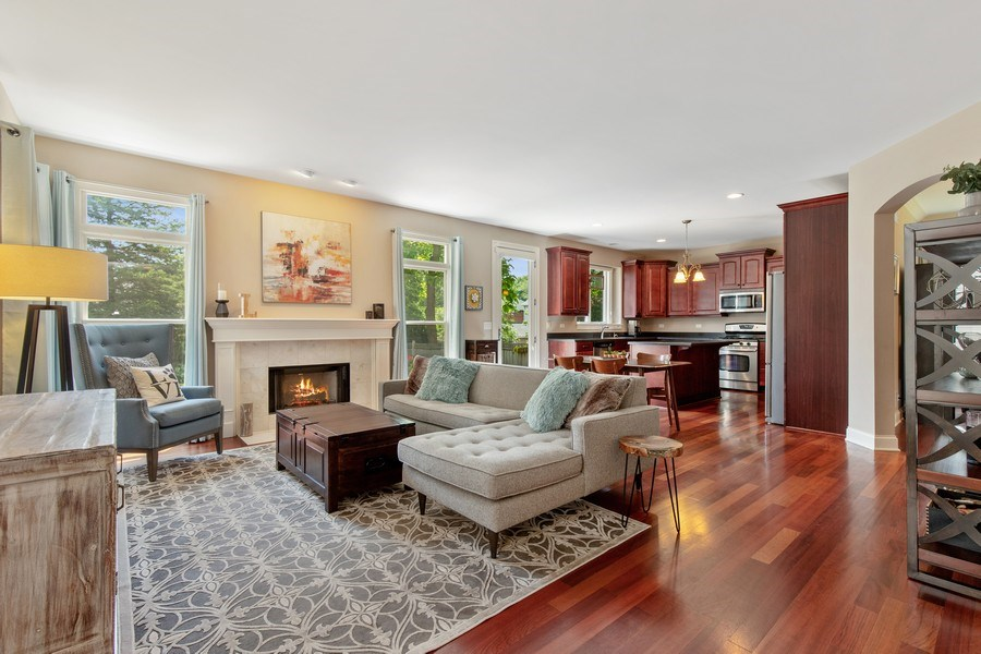 Real Estate Photography - 21391 W Willow Road, Lake Zurich, IL, 60047 - Family Room