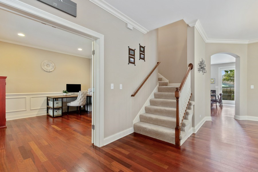 Real Estate Photography - 21391 W Willow Road, Lake Zurich, IL, 60047 - Foyer