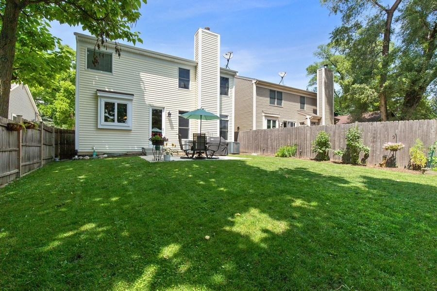 Real Estate Photography - 21391 W Willow Road, Lake Zurich, IL, 60047 - Rear View