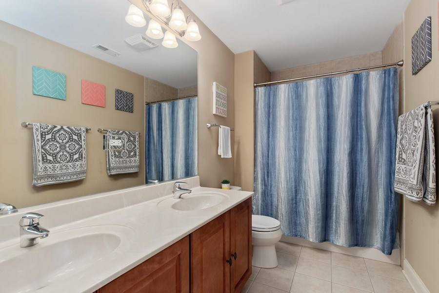 Real Estate Photography - 21391 W Willow Road, Lake Zurich, IL, 60047 - Bathroom