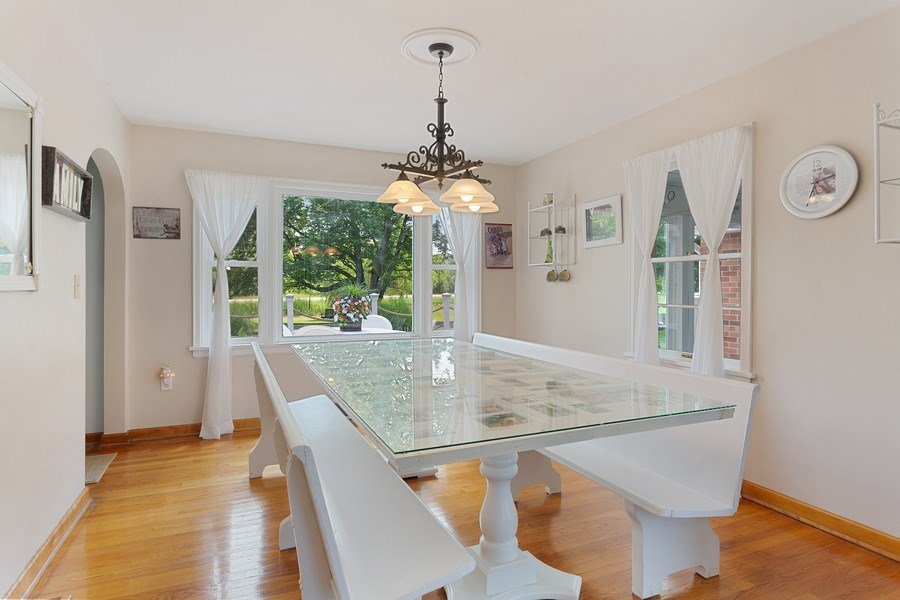 Real Estate Photography - 2125 Dayton Rd., Galien, MI, 49113 - Dining Room