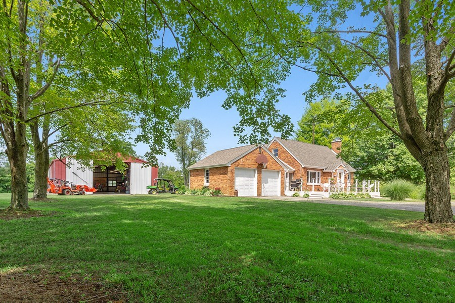 Real Estate Photography - 2125 Dayton Rd., Galien, MI, 49113 - Front View