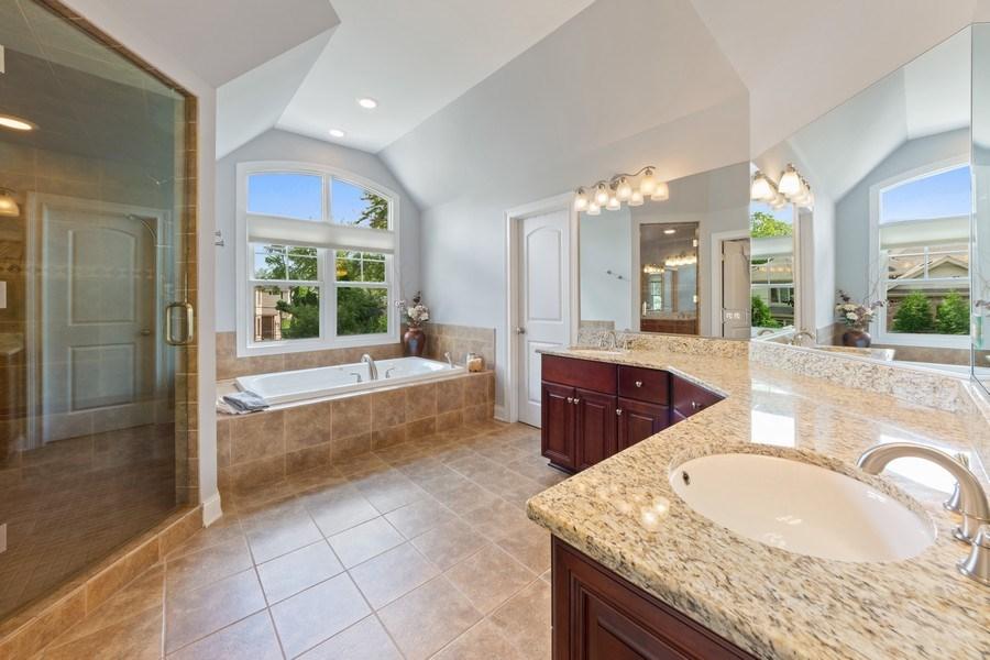 Real Estate Photography - 1211 N Race, Arlington Heights, IL, 60004 - Master Bathroom