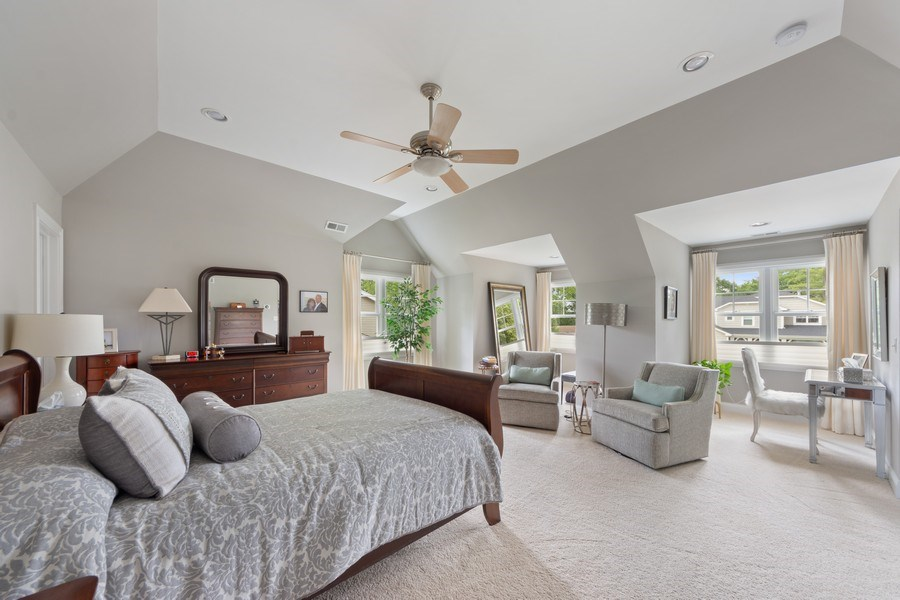 Real Estate Photography - 1211 N Race, Arlington Heights, IL, 60004 - Master Bedroom
