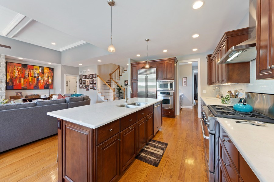 Real Estate Photography - 1211 N Race, Arlington Heights, IL, 60004 - Kitchen