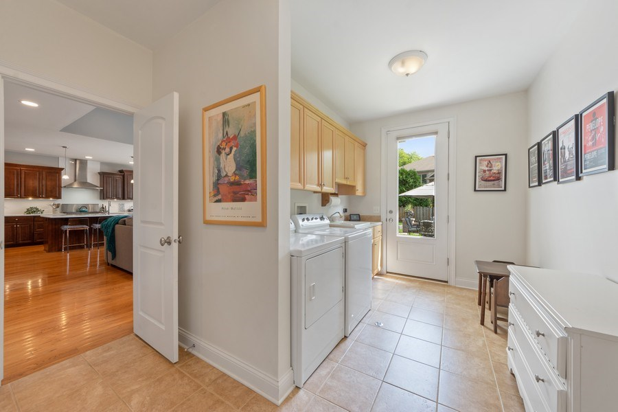 Real Estate Photography - 1211 N Race, Arlington Heights, IL, 60004 - Mudroom