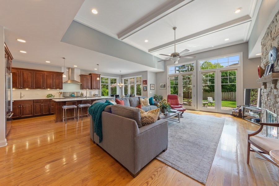 Real Estate Photography - 1211 N Race, Arlington Heights, IL, 60004 - Family Room