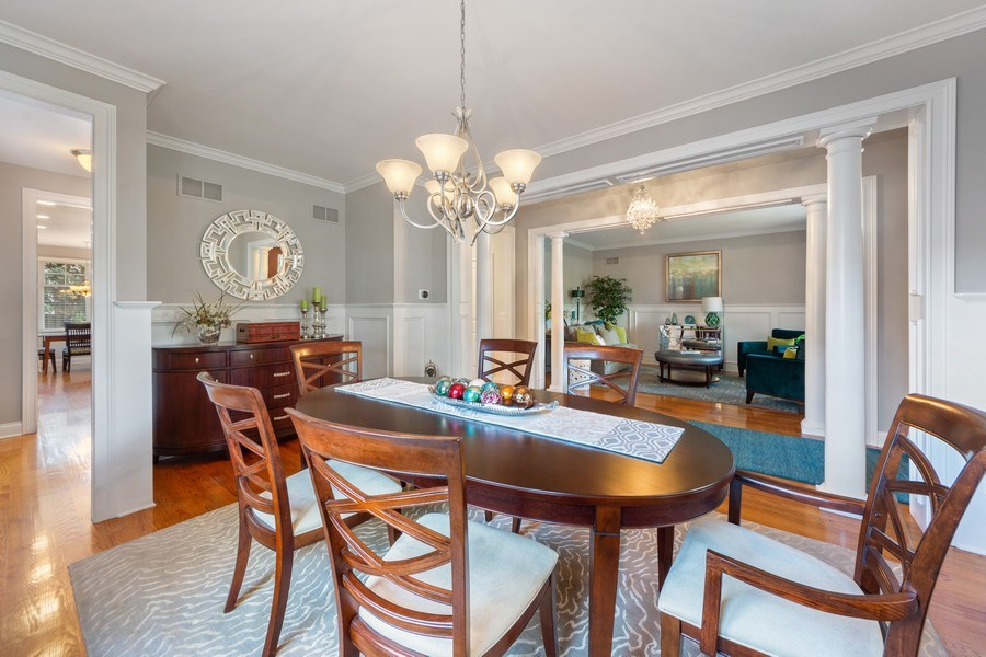 Real Estate Photography - 1211 N Race, Arlington Heights, IL, 60004 - Living Room / Dining Room