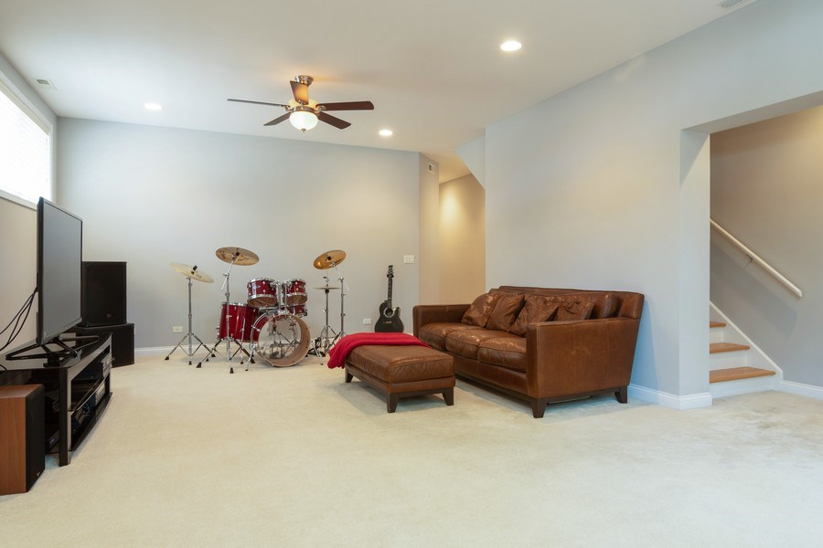 Real Estate Photography - 7300 N Hamilton 1S, Chicago, IL, 60645 - Family Room