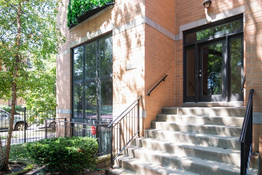 Real Estate Photography - 7300 N Hamilton 1S, Chicago, IL, 60645 - Front View