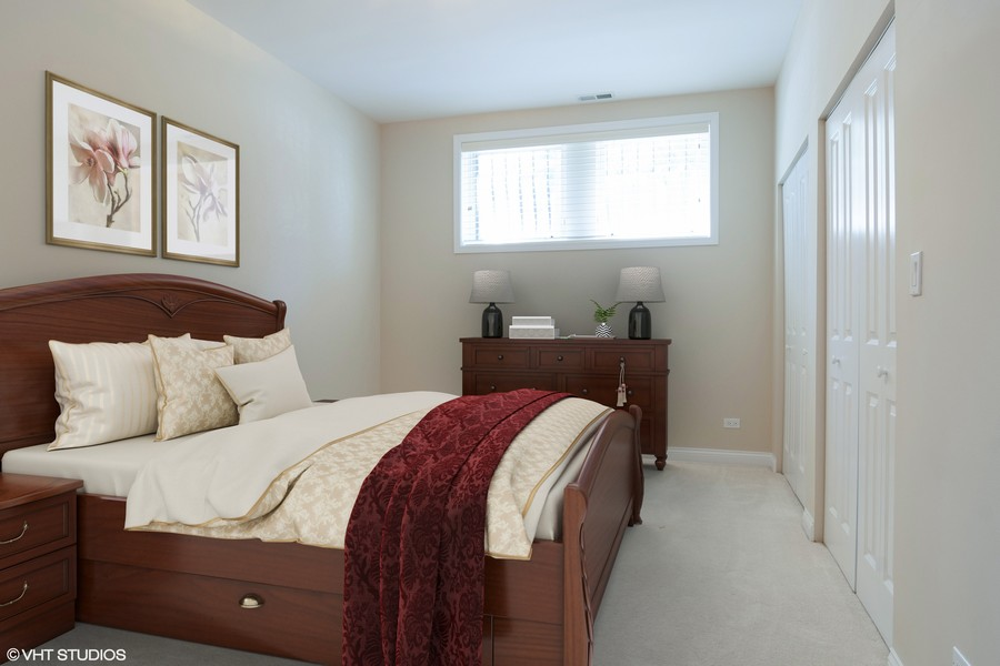 Real Estate Photography - 7300 N Hamilton 1S, Chicago, IL, 60645 - 3rd Bedroom