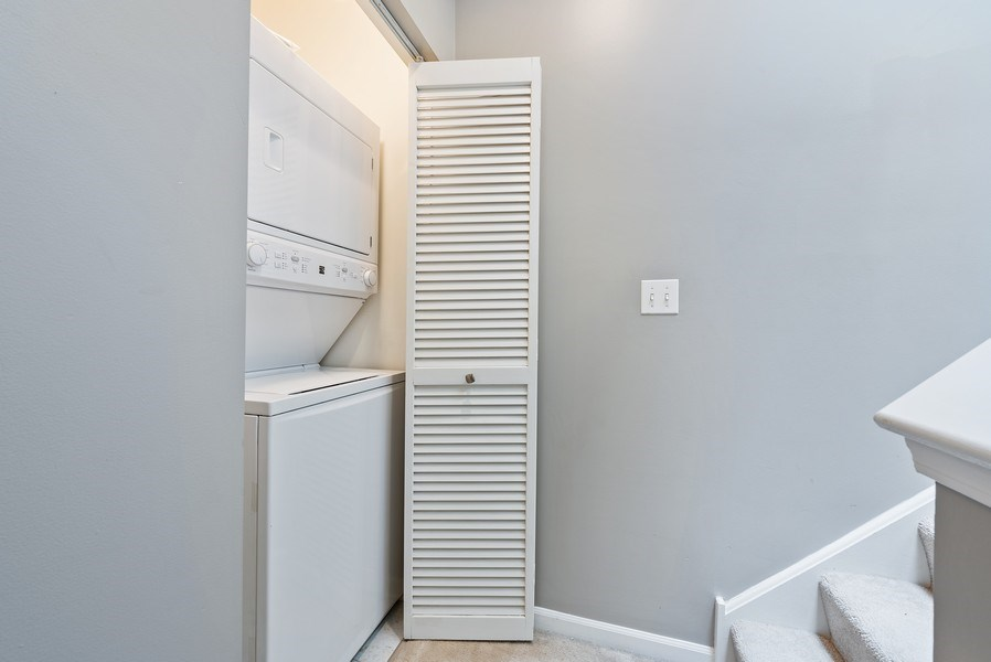 Real Estate Photography - 1222 N Orleans Court, Chicago, IL, 60610 - Laundry Room