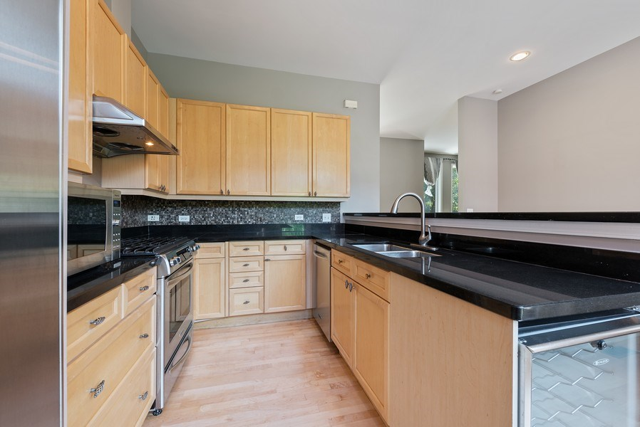 Real Estate Photography - 1222 N Orleans Court, Chicago, IL, 60610 - Kitchen