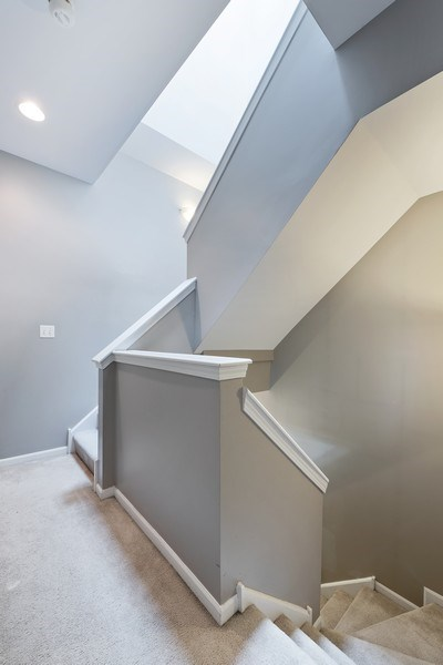 Real Estate Photography - 1222 N Orleans Court, Chicago, IL, 60610 - Staircase