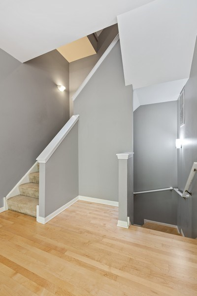 Real Estate Photography - 1222 N Orleans Court, Chicago, IL, 60610 - Stairwell to 2nd level
