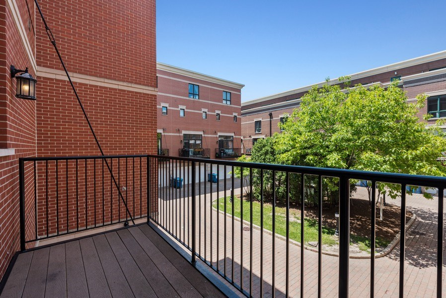 Real Estate Photography - 1222 N Orleans Court, Chicago, IL, 60610 - Balcony