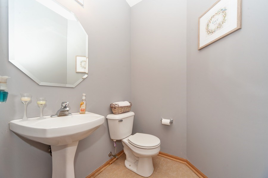 Real Estate Photography - 649 Shakespeare Drive, Grayslake, IL, 60030 - 3rd Bathroom
