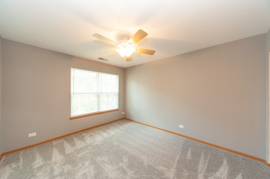 Real Estate Photography - 649 Shakespeare Drive, Grayslake, IL, 60030 - 2nd Bedroom