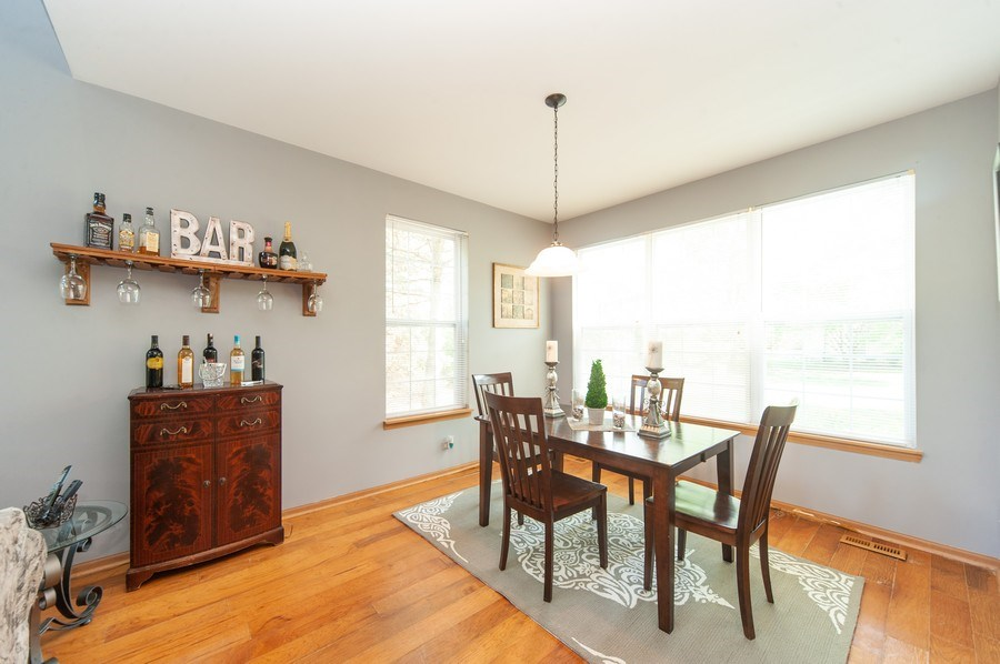 Real Estate Photography - 649 Shakespeare Drive, Grayslake, IL, 60030 - Dining Room