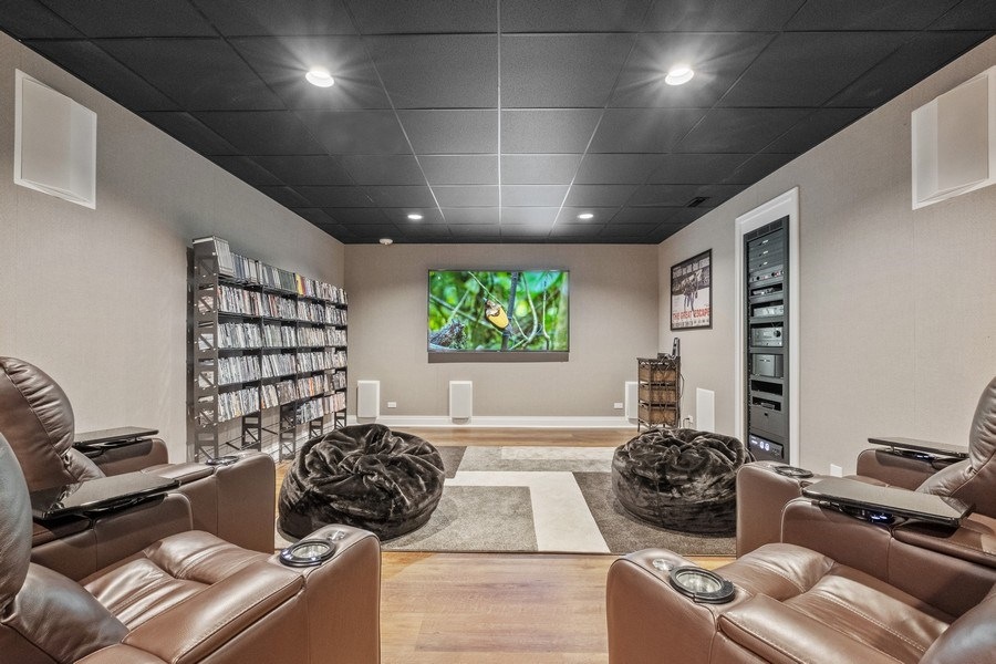 Real Estate Photography - 3 Broadleys Ct, Bannockburn, IL, 60015 - Theater