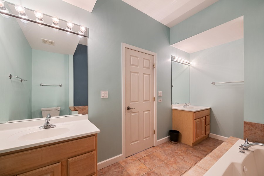 Real Estate Photography - 1047 W. Belmont, #3R, Chicago, IL, 60657 - Master Bathroom