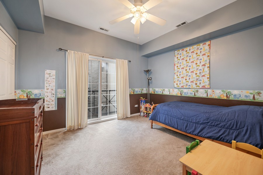 Real Estate Photography - 1047 W. Belmont, #3R, Chicago, IL, 60657 - Second Bedroom