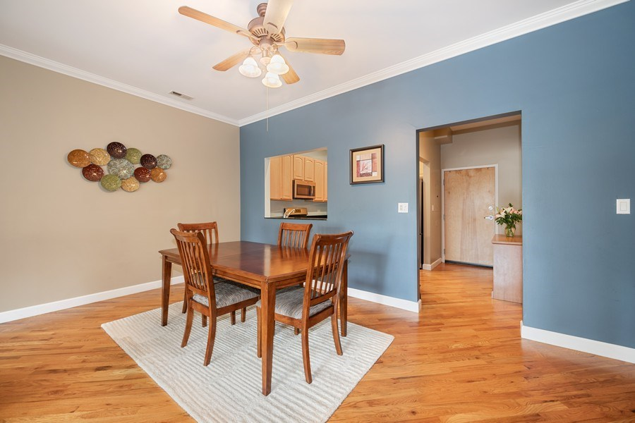 Real Estate Photography - 1047 W. Belmont, #3R, Chicago, IL, 60657 - Dining Room