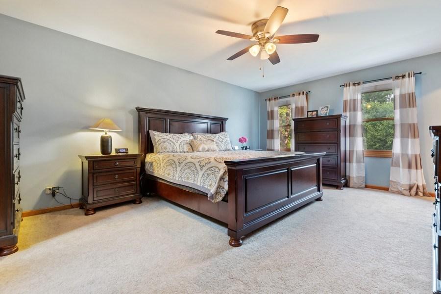 Real Estate Photography - 68 Breckenridge Dr., Aurora, IL, 60504 - Master Bedroom
