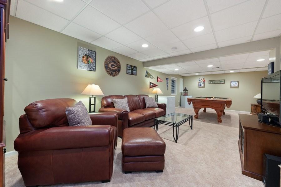 Real Estate Photography - 68 Breckenridge Dr., Aurora, IL, 60504 - Basement