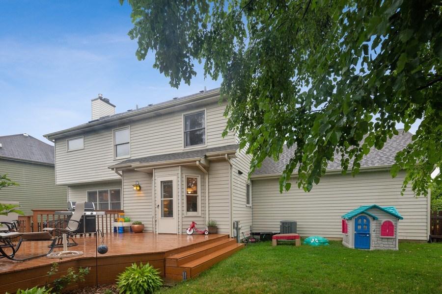 Real Estate Photography - 68 Breckenridge Dr., Aurora, IL, 60504 - Back Yard