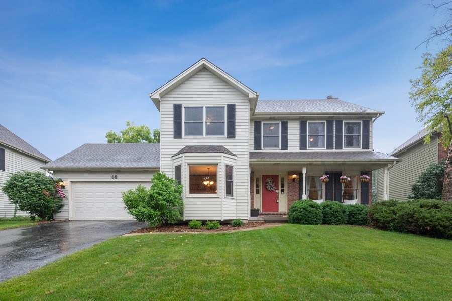 Real Estate Photography - 68 Breckenridge Dr., Aurora, IL, 60504 - Front View
