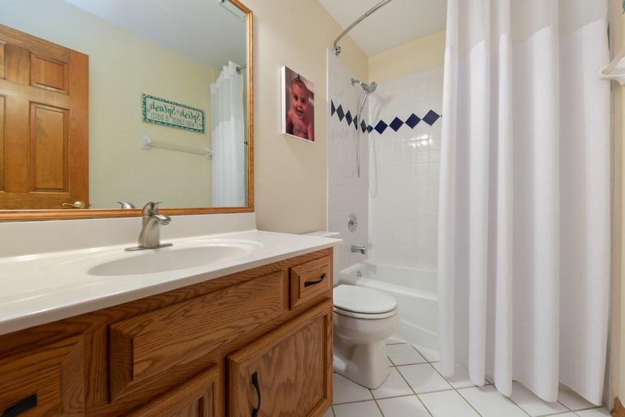 Real Estate Photography - 68 Breckenridge Dr., Aurora, IL, 60504 - Bathroom