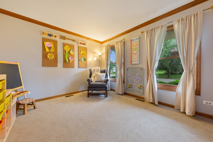 Real Estate Photography - 68 Breckenridge Dr., Aurora, IL, 60504 - Play / Recreational Room