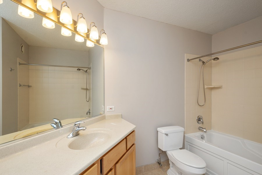 Real Estate Photography - 222 N Columbus Dr, #604, Chicago, IL, 60601 - Master Bathroom