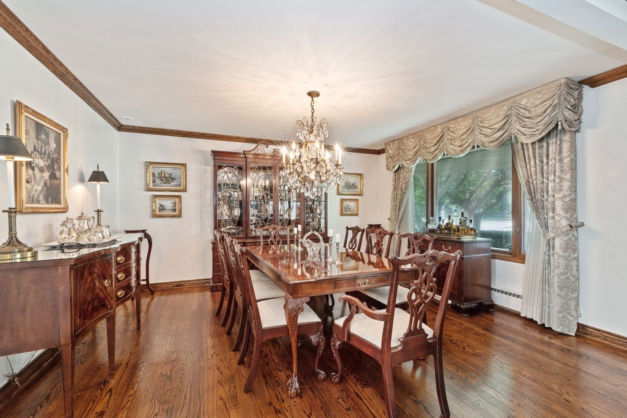 Real Estate Photography - 1205 Longmeadow, Glenview, IL, 60025 - Dining Room