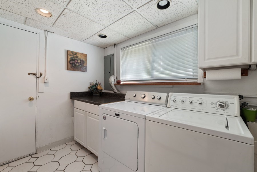 Real Estate Photography - 1205 Longmeadow, Glenview, IL, 60025 - Laundry Room