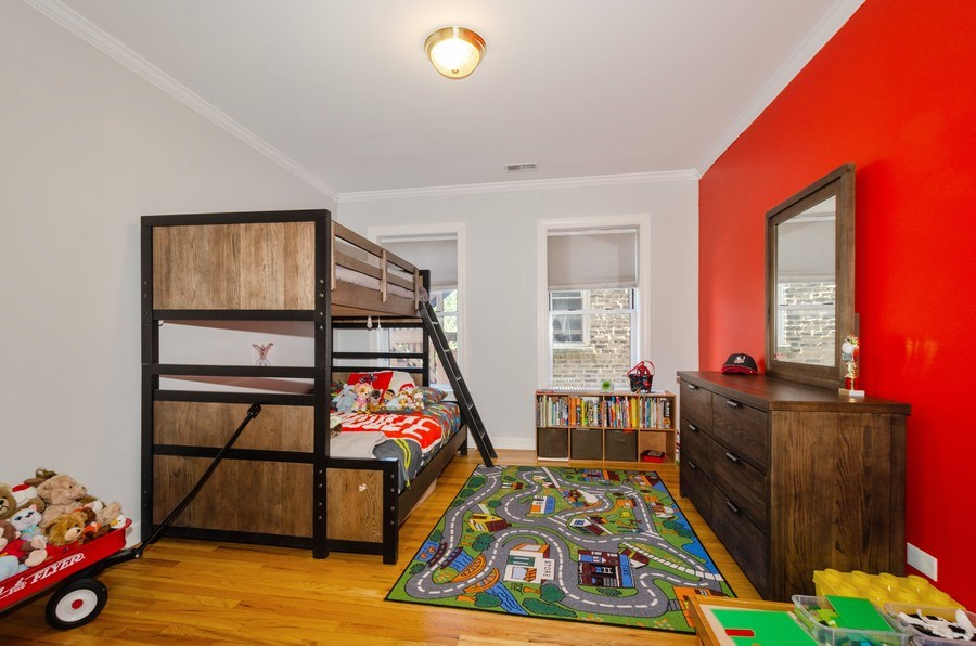 Real Estate Photography - 811 Hinman, 2E, Evanston, IL, 60202 - 2nd Bedroom
