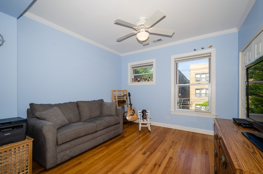 Real Estate Photography - 811 Hinman, 2E, Evanston, IL, 60202 - 3rd Bedroom